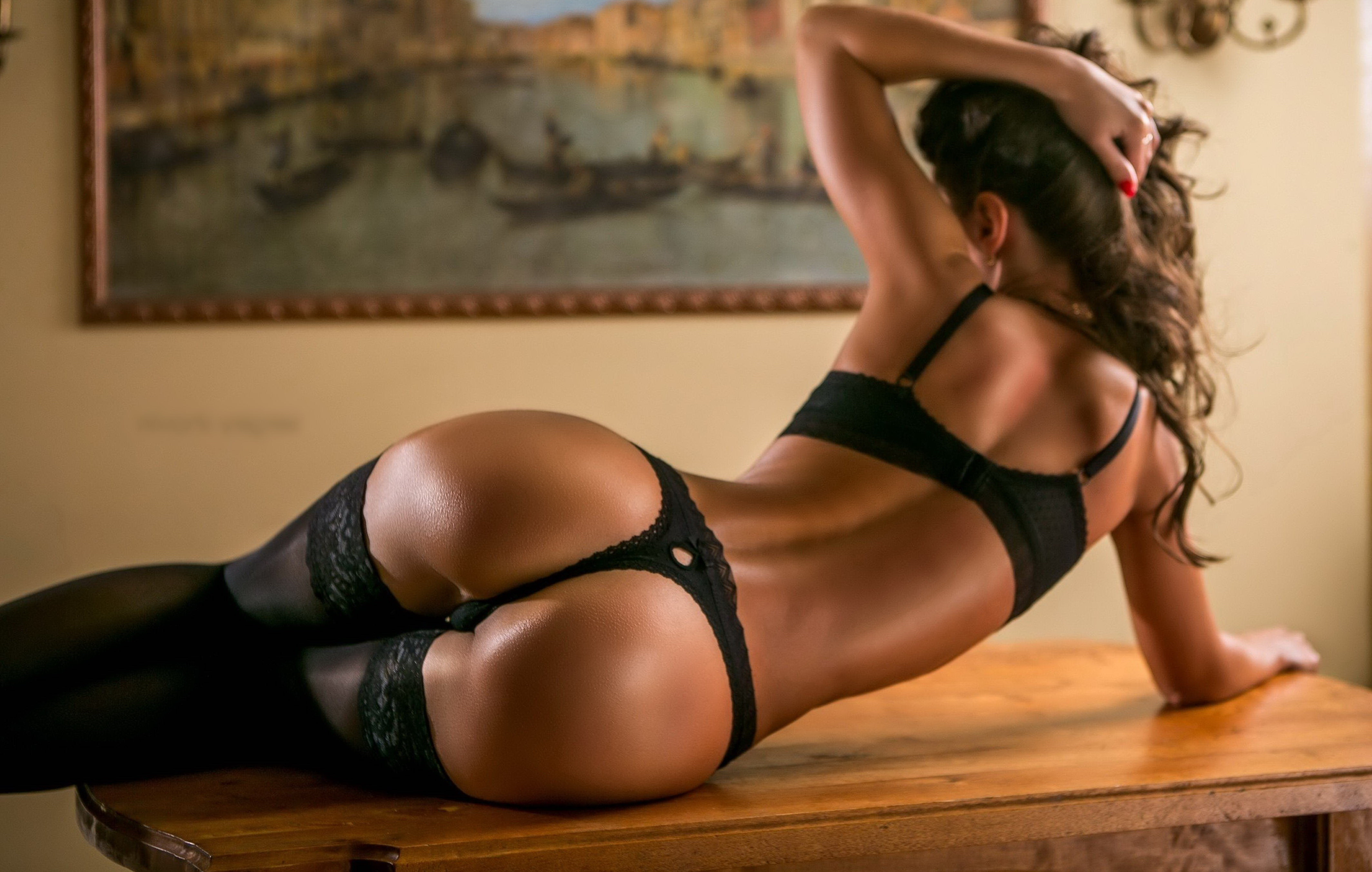 Hot and spicy escorts Hot escort slut loves to wear crotchless panties and she loves a good sex -